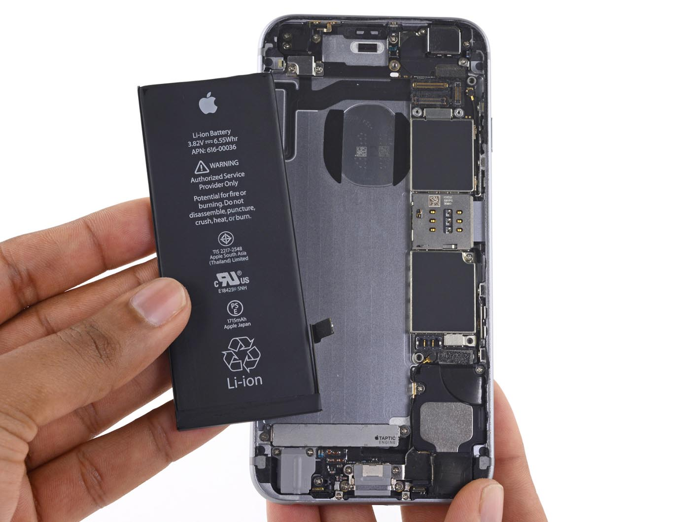 iPhone 6s batterie