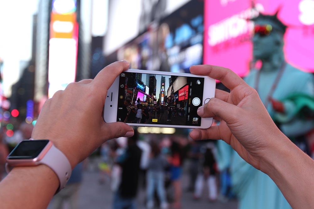 iPhone 6s caméra