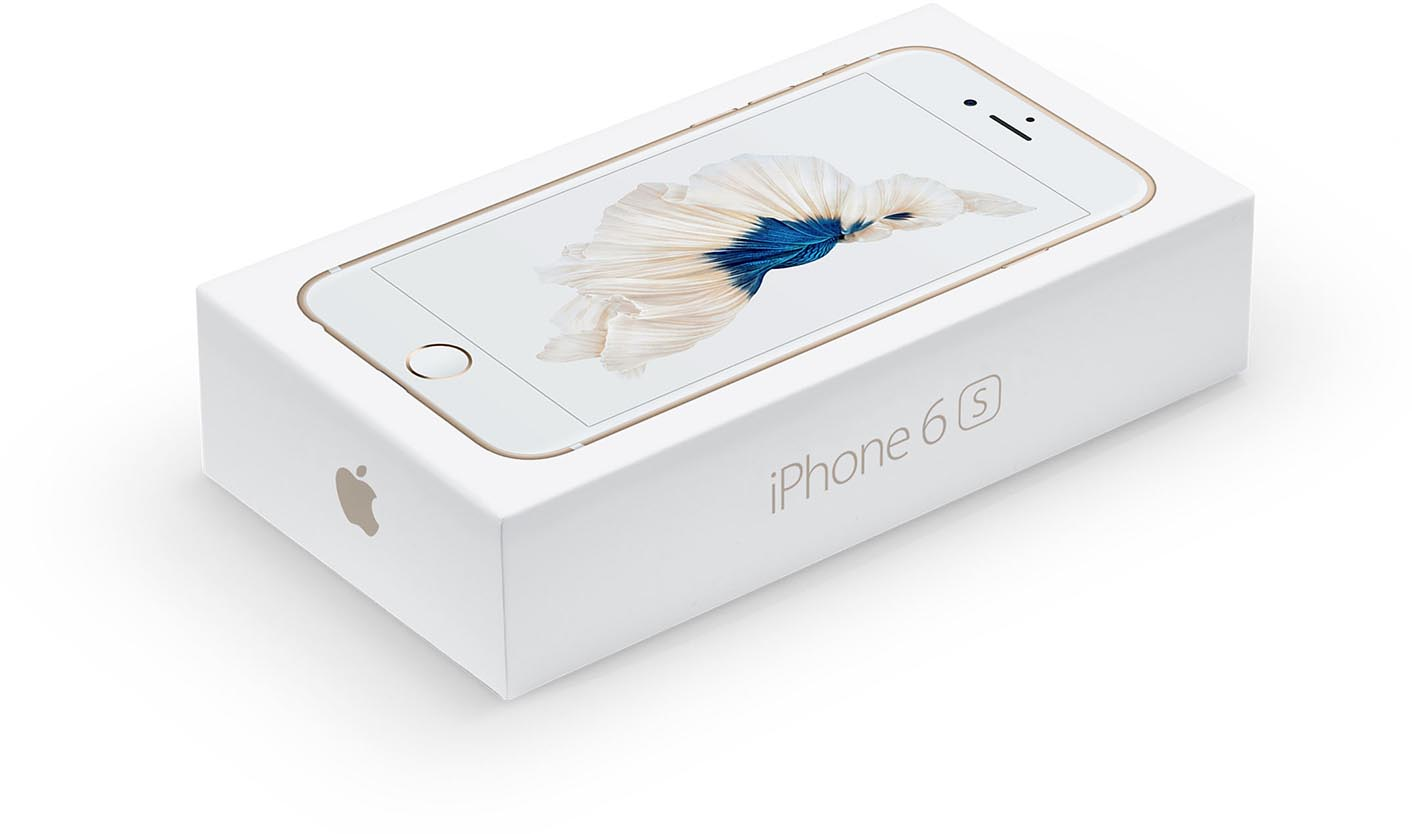 iPhone 6s emballage
