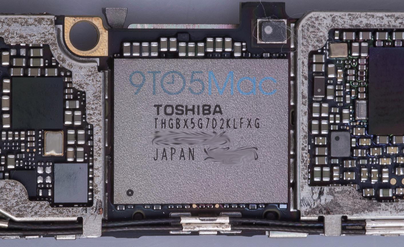 iPhone 6s stockage