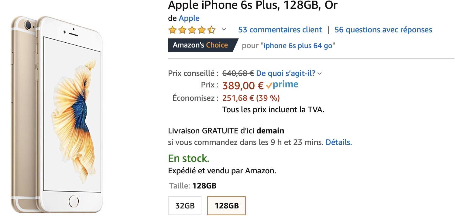 iPhone 6s Plus Amazon