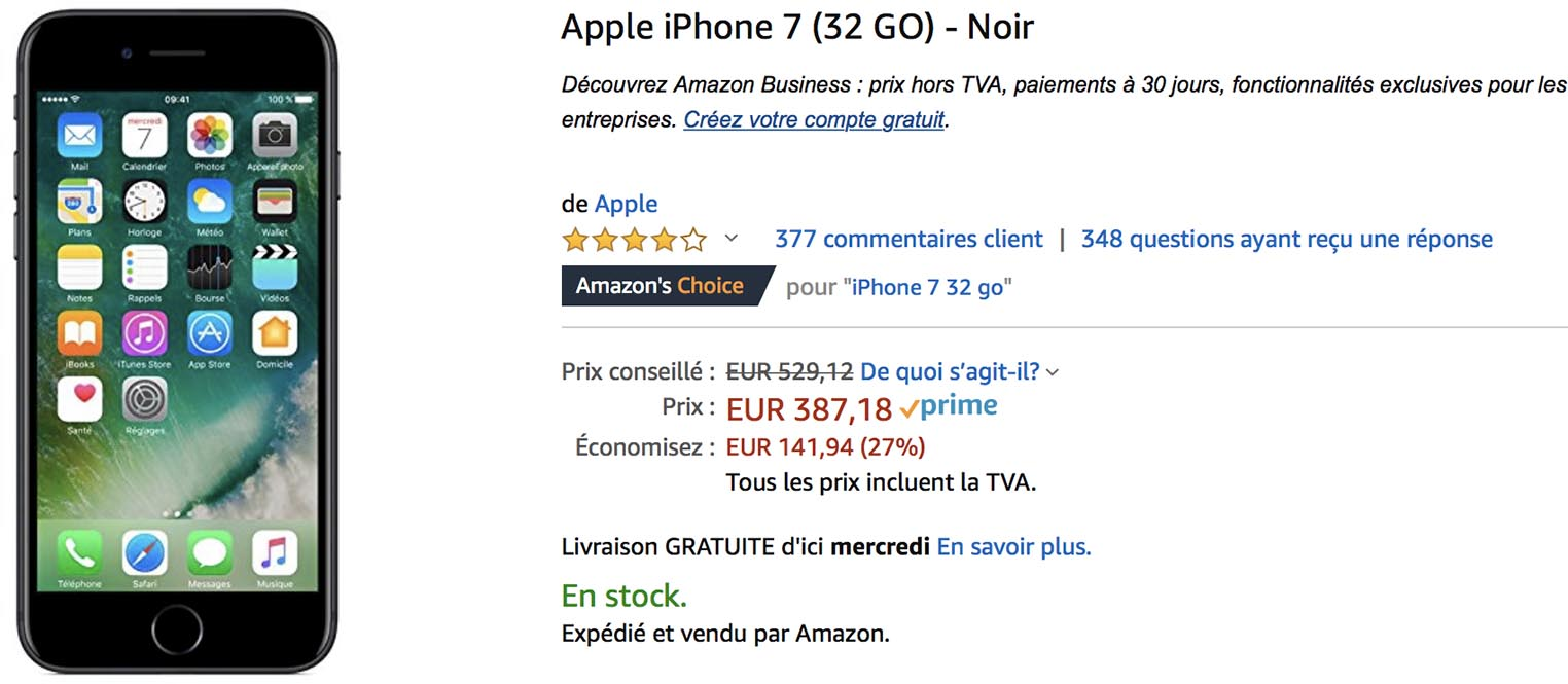 iPhone 7 Amazon