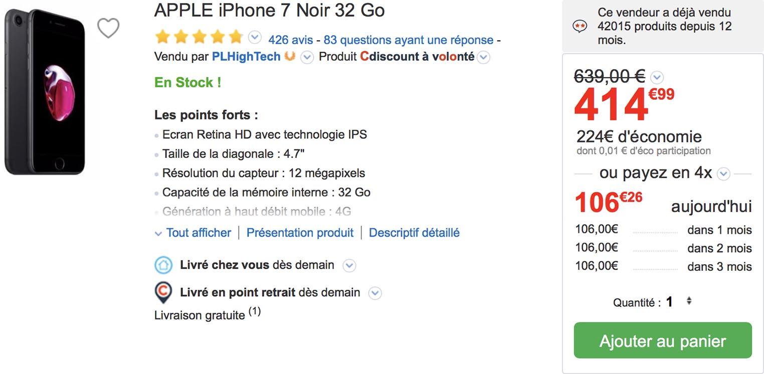 iPhone 7 Promo CD-Rabatt