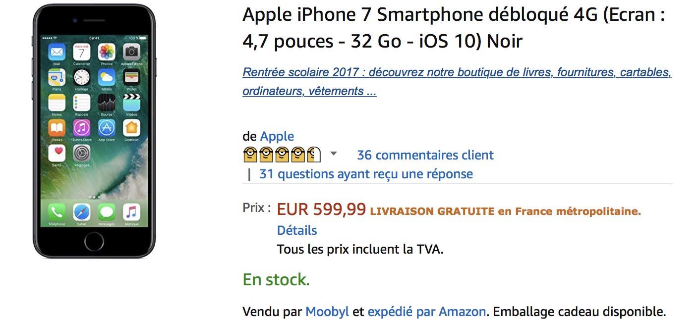 iPhone 7 promo Amazon