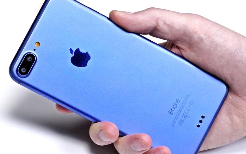 consomac la d couverte de l 39 iphone 7 plus bleu. Black Bedroom Furniture Sets. Home Design Ideas