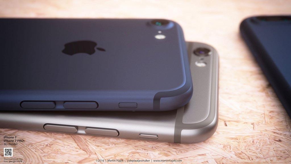 iPhone 7 bleu profond