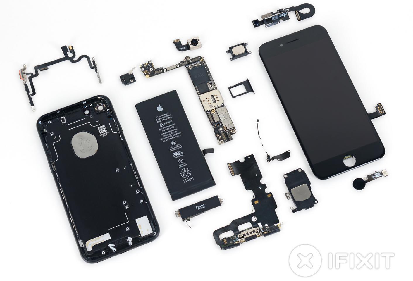 iPhone 7 démonté