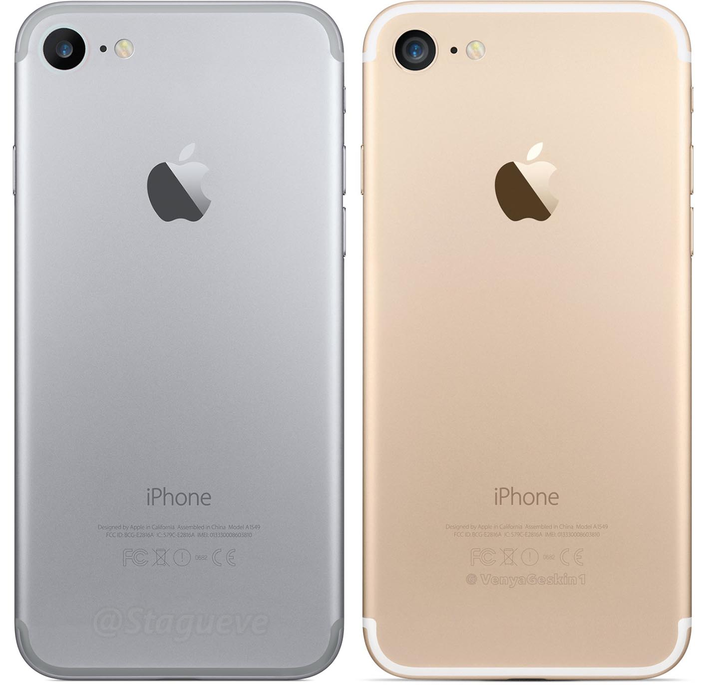 iPhone 7 rendu 3D
