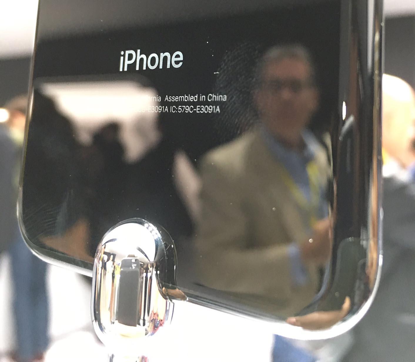 iPhone 7 traces de doigt