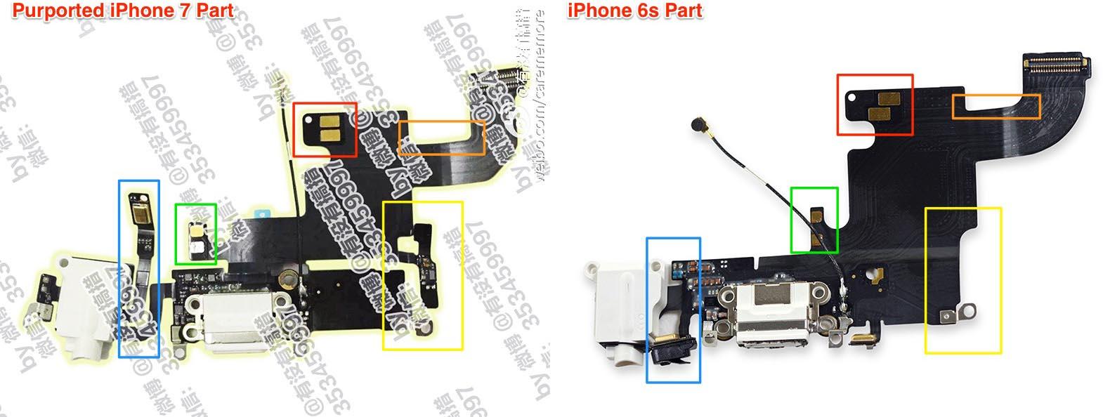 iPhone 7 jack pièce détachée