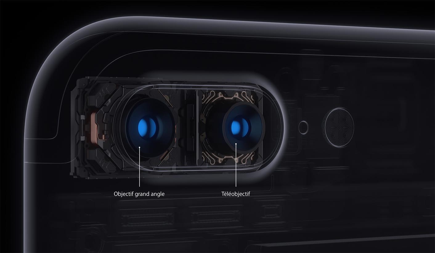 iPhone 7 Plus double appareil photo