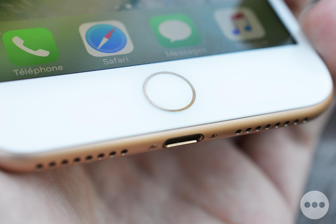 iPhone 7 bouton d'accueil