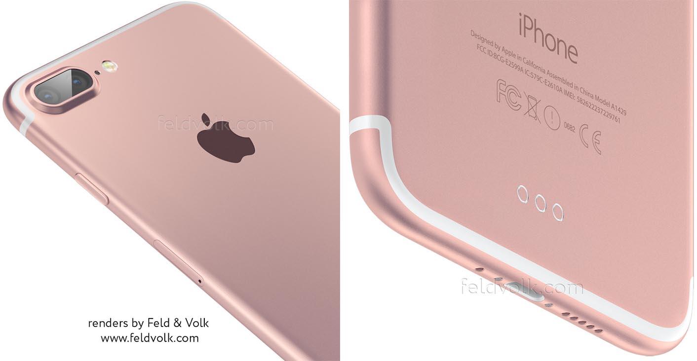 iPhone 7 Plus montage