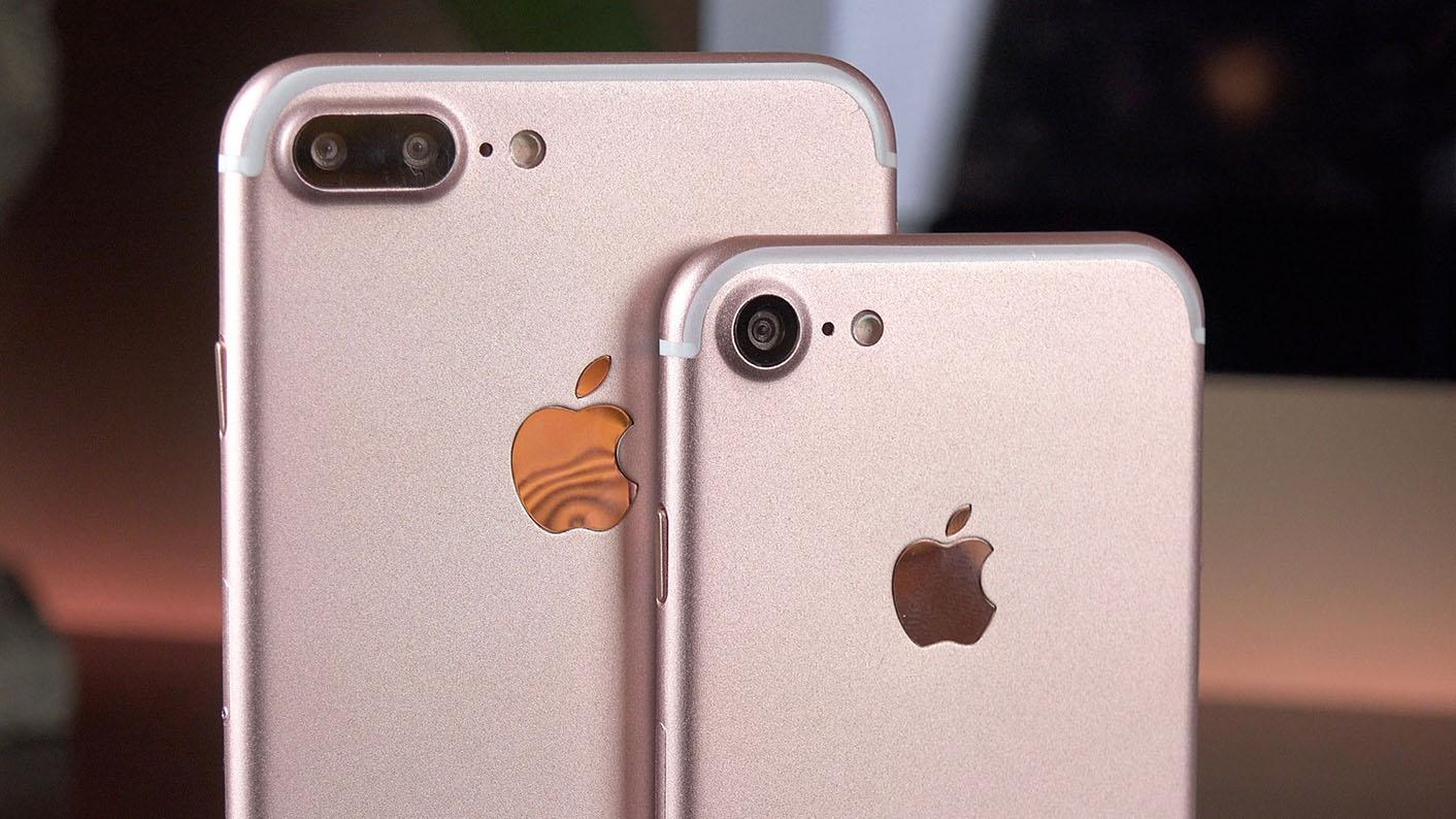 iPhone 7 Plus iSight Duo camera Mockup