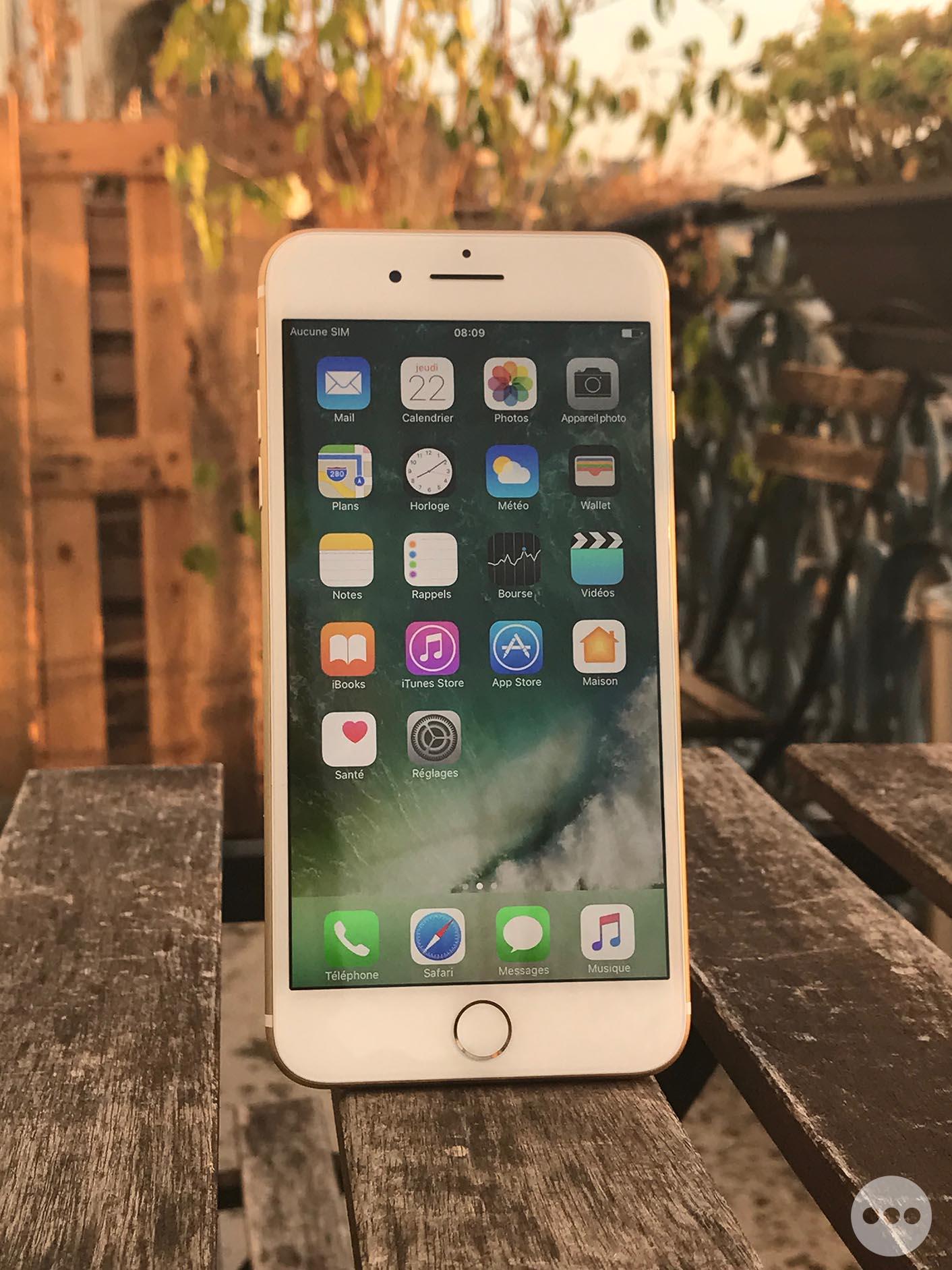 iPhone 7 Plus effet bokeh