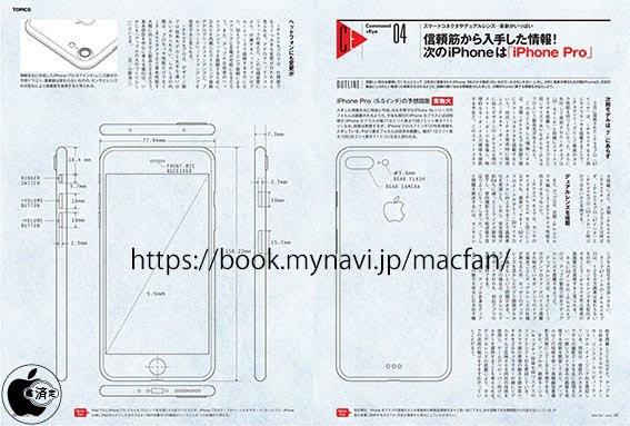 iPhone 7 Plus schéma industriel