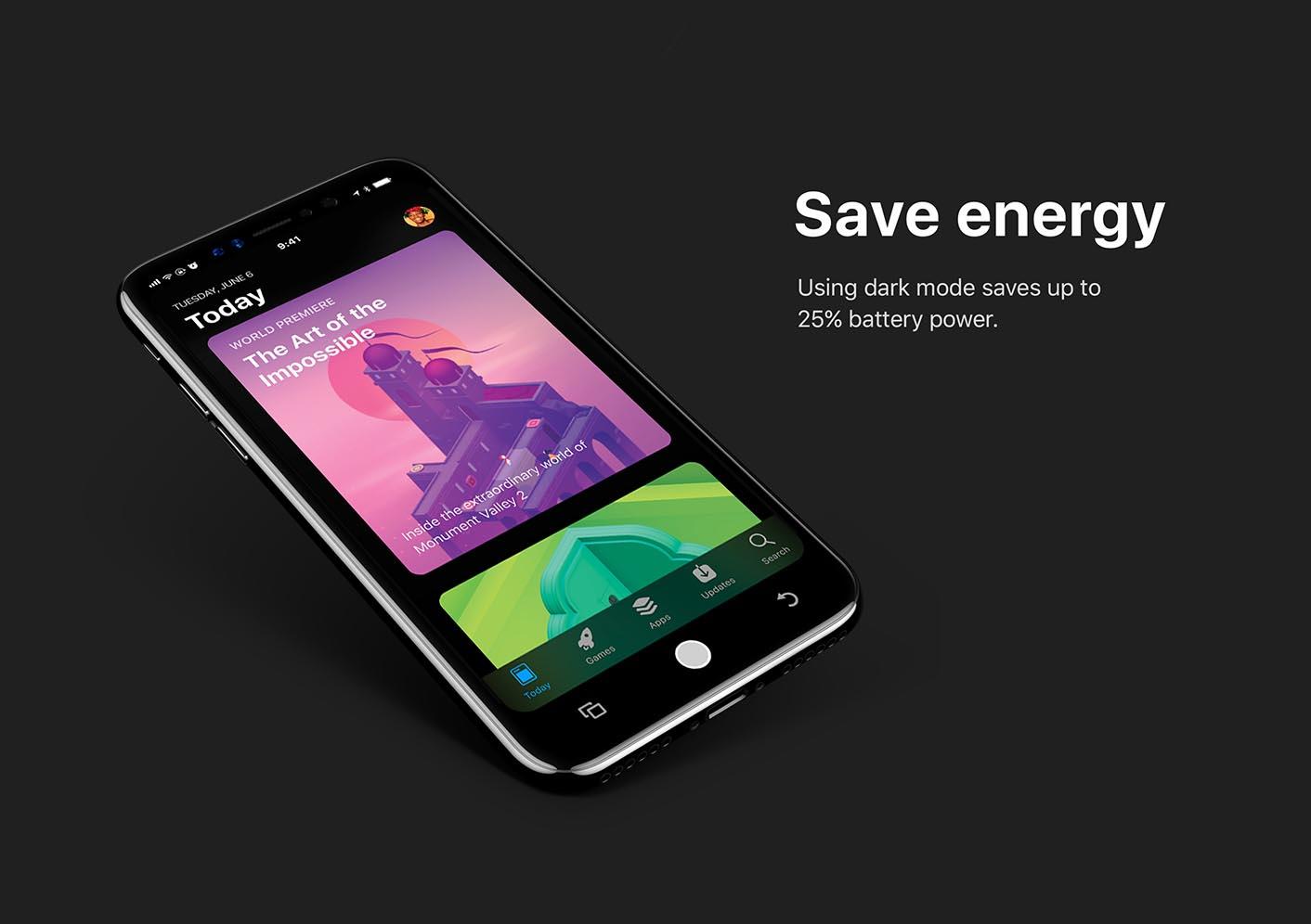 Concept iPhone 8 iOS 12