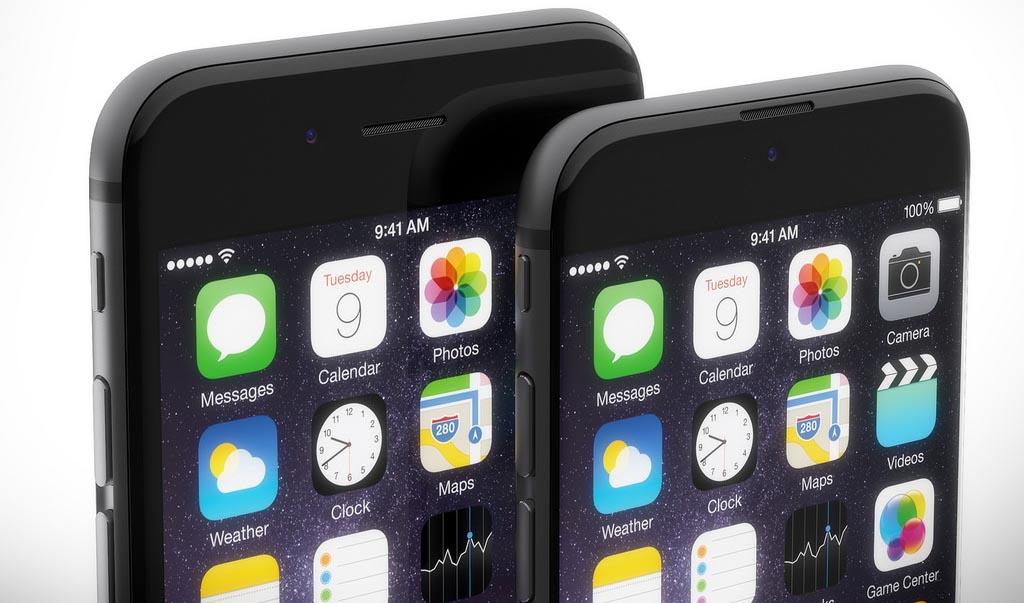 iPhone écran bord à bord