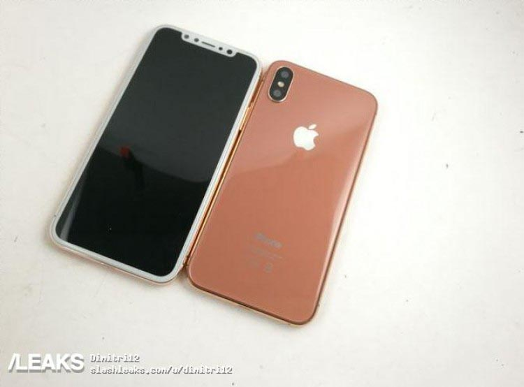 coque iphone 8 cuivre