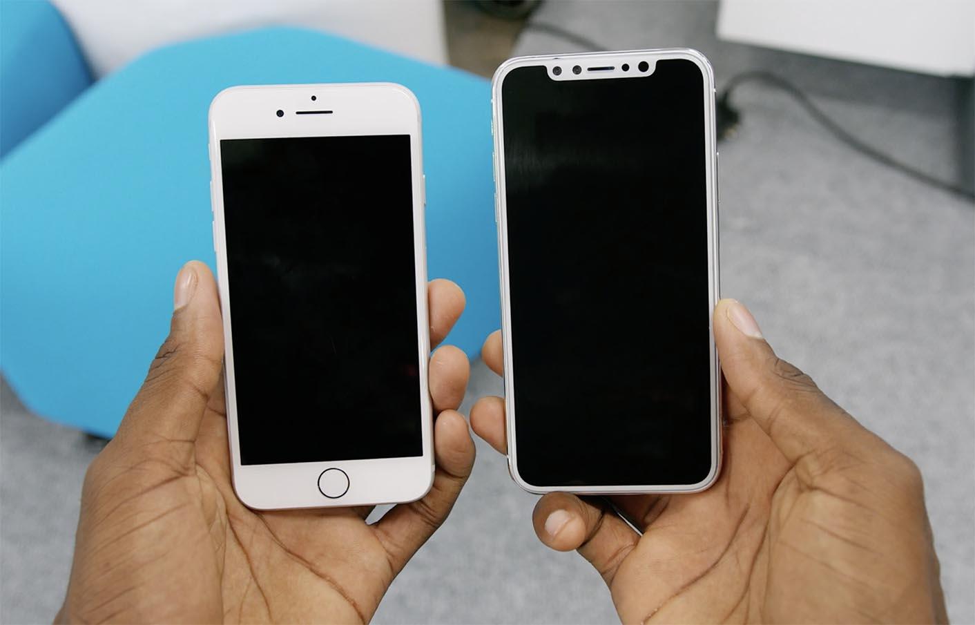 iPhone 8 écran maquette