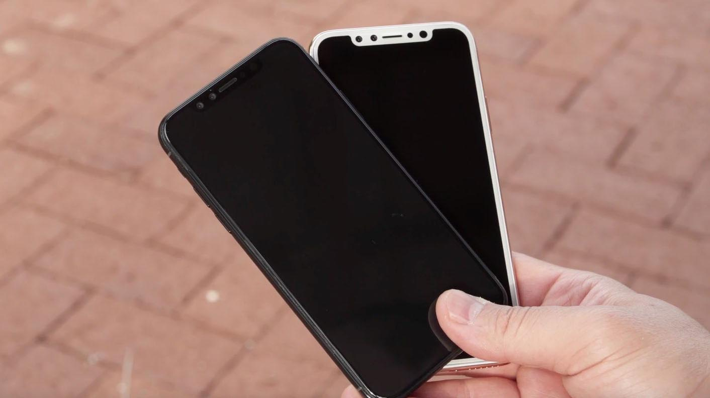 iPhone 8 façade blanche maquette