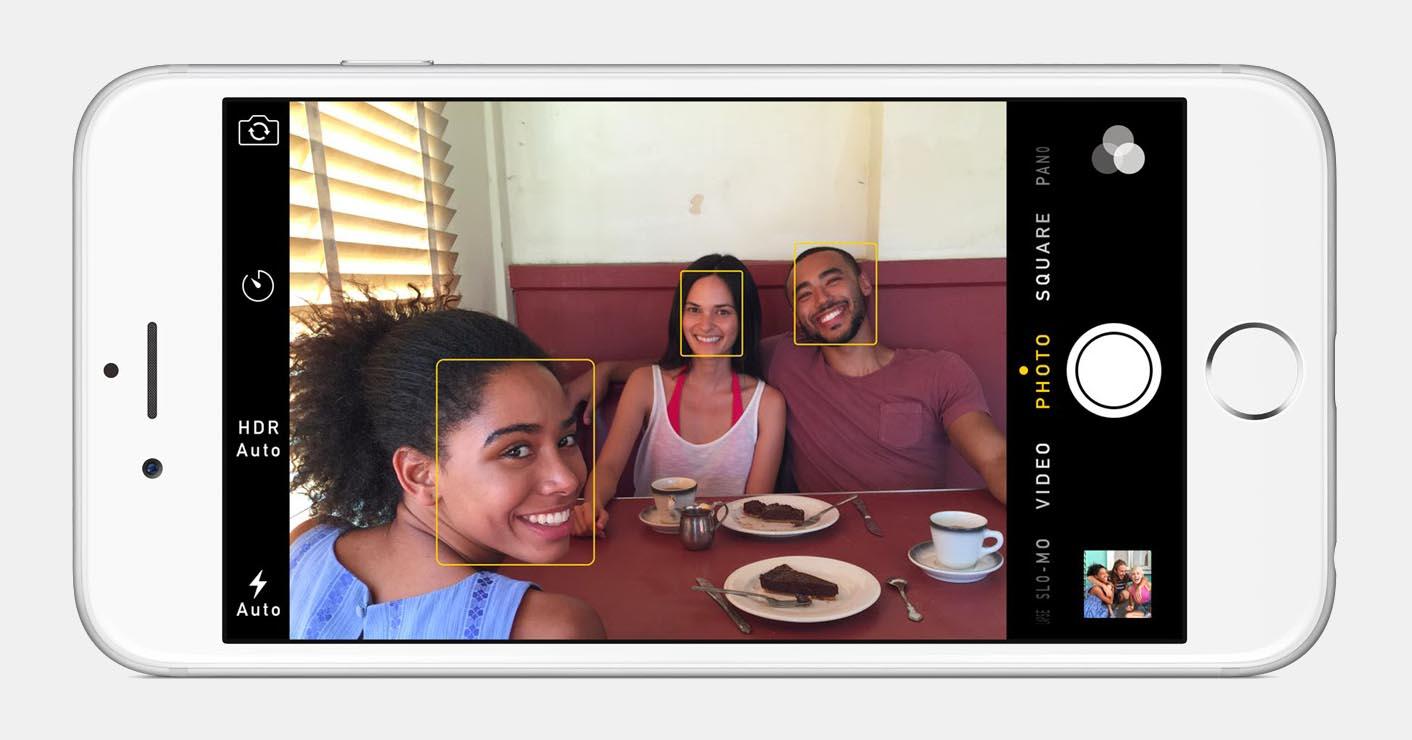 iPhone 8 reconnaissance faciale