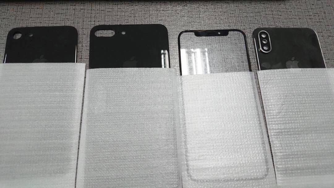 iPhone 8 fuite façade