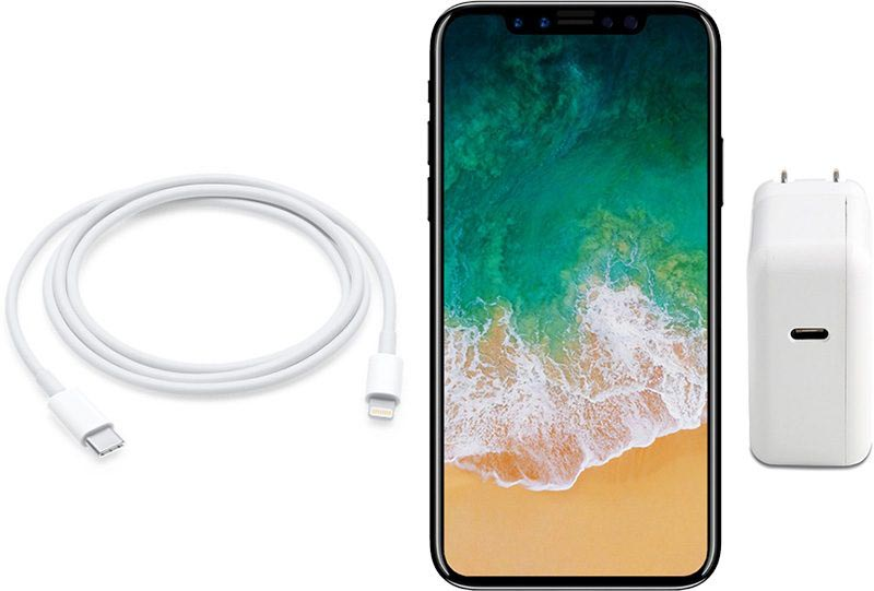 iPhone 8 chargeur USB-C