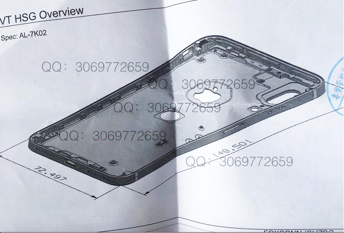 iPhone 8 schéma Sonny Dickson