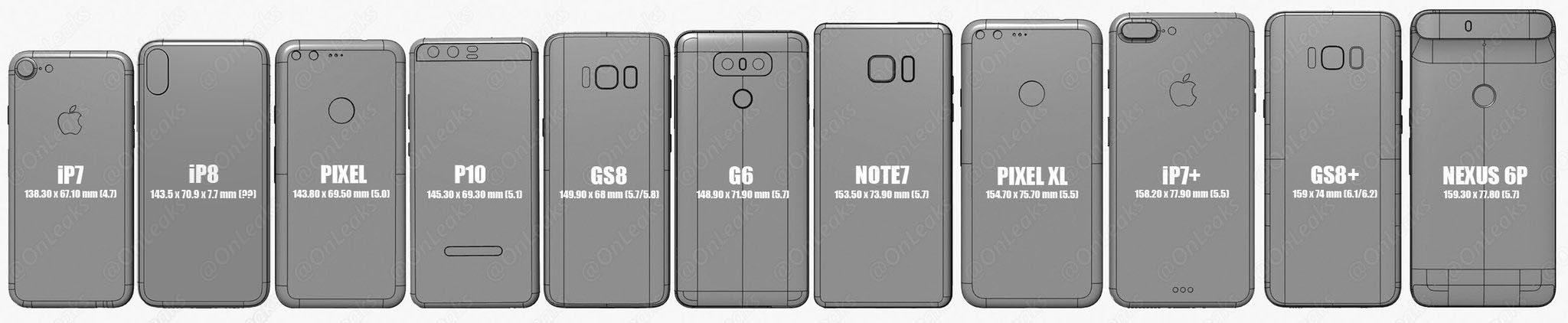 consomac l 39 iphone 8 compar aux autres smartphones. Black Bedroom Furniture Sets. Home Design Ideas
