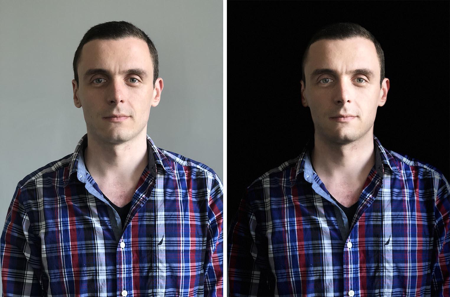 iPhone 8 mode portrait