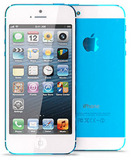Montage iPhone 5S bleu