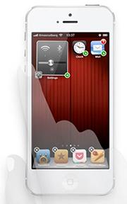 Widgets sur iPhone