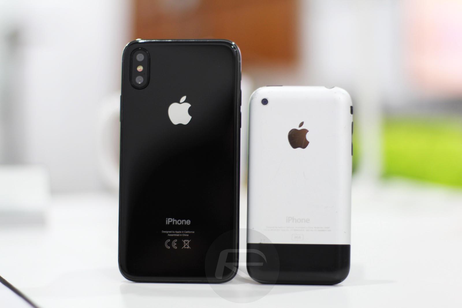iPhone X comparaison