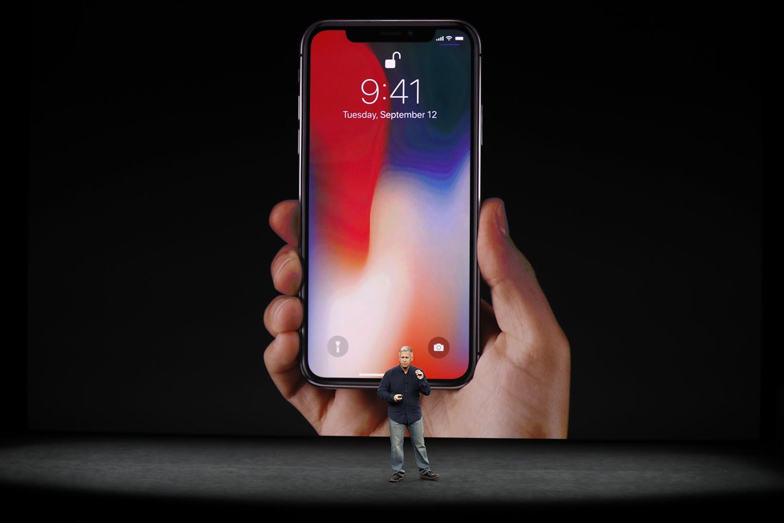 iPhone X Keynote Phil Schiller