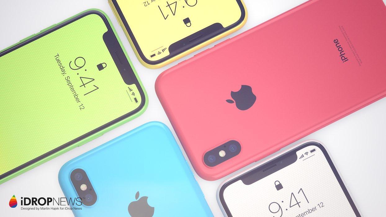 iPhone XC Martin Hajek concept