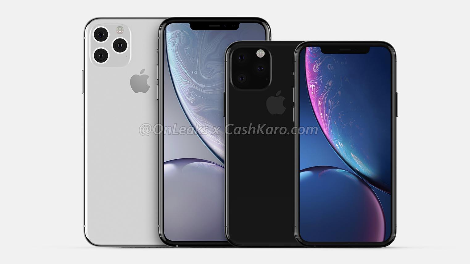 iPhone 2019 rendus