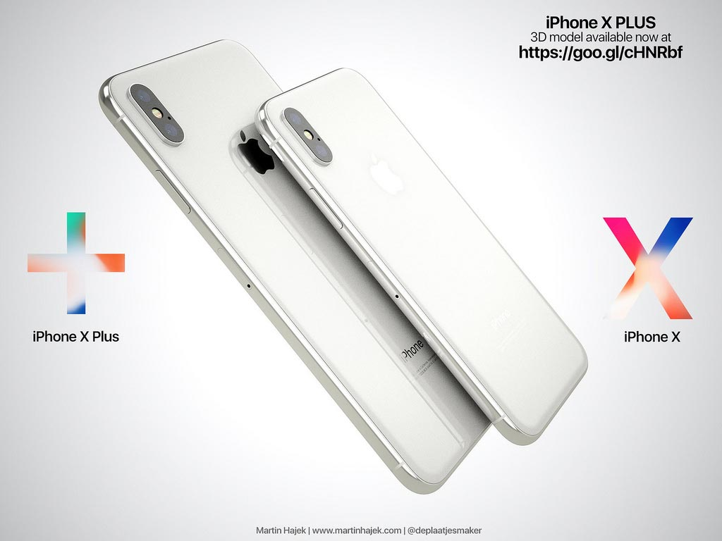 iPhone X Plus Martin Hajek
