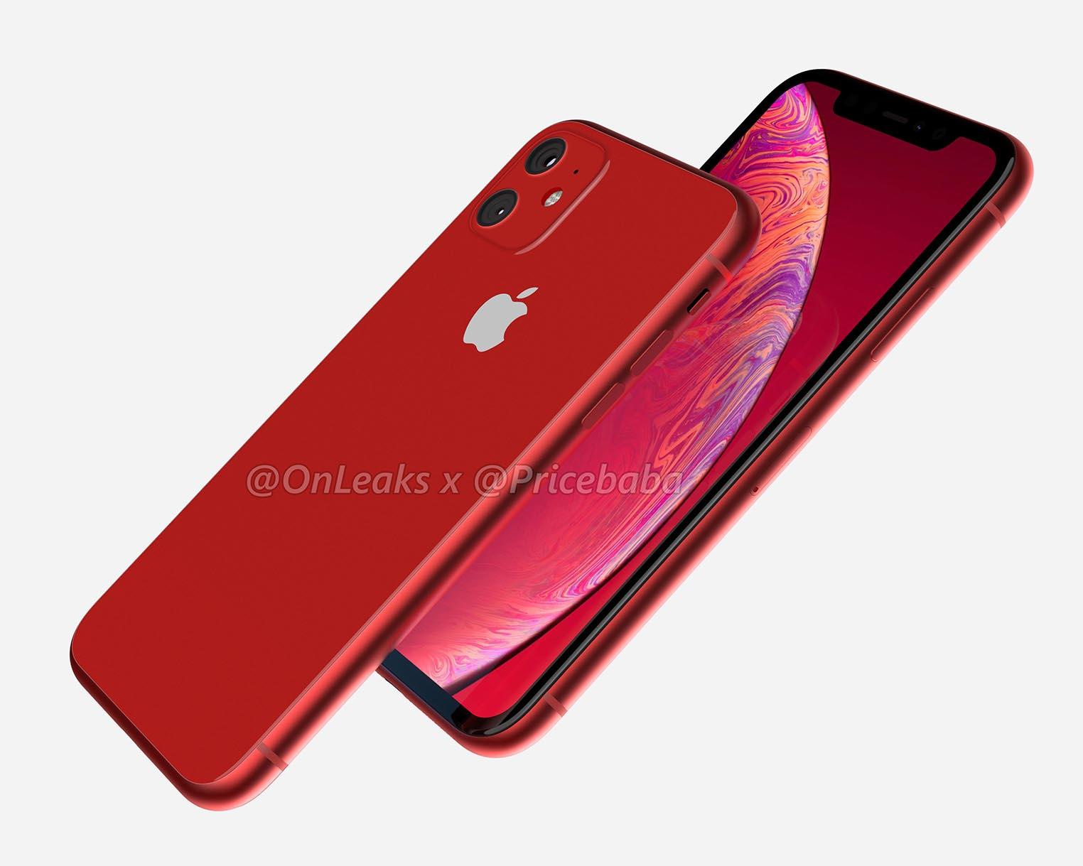 Rendu 3D iPhone XR 2019