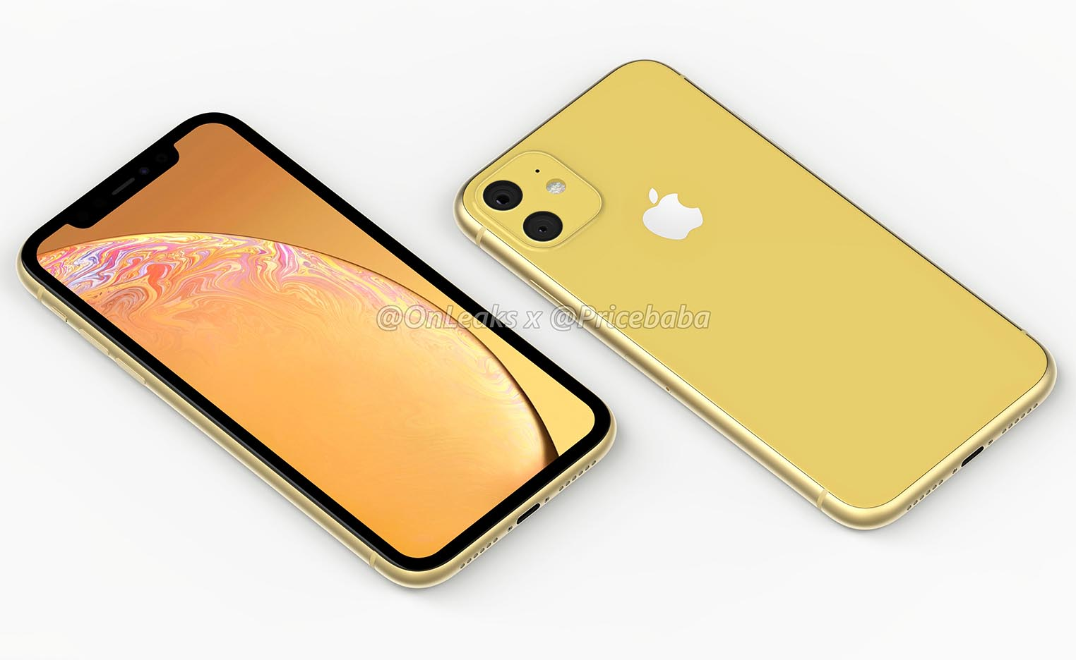 iPhone XR 2019 rendu 3D