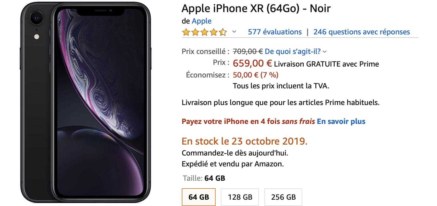 iPhone XR Amazon