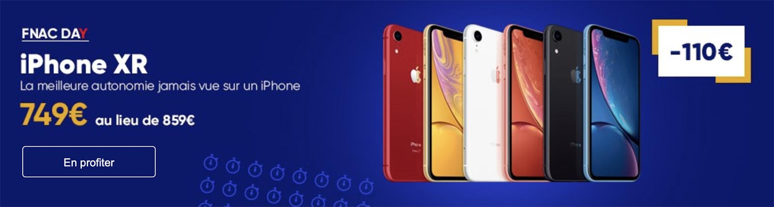 iPhone XR promo Fnac