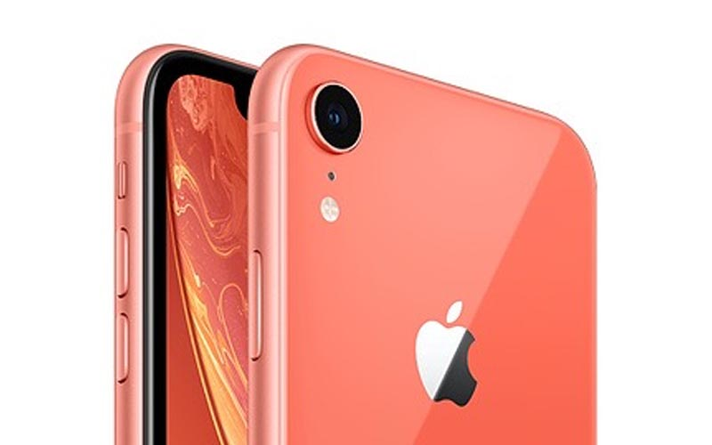 Un iPhone XR de 256 Go corail à 809 € (-21%)