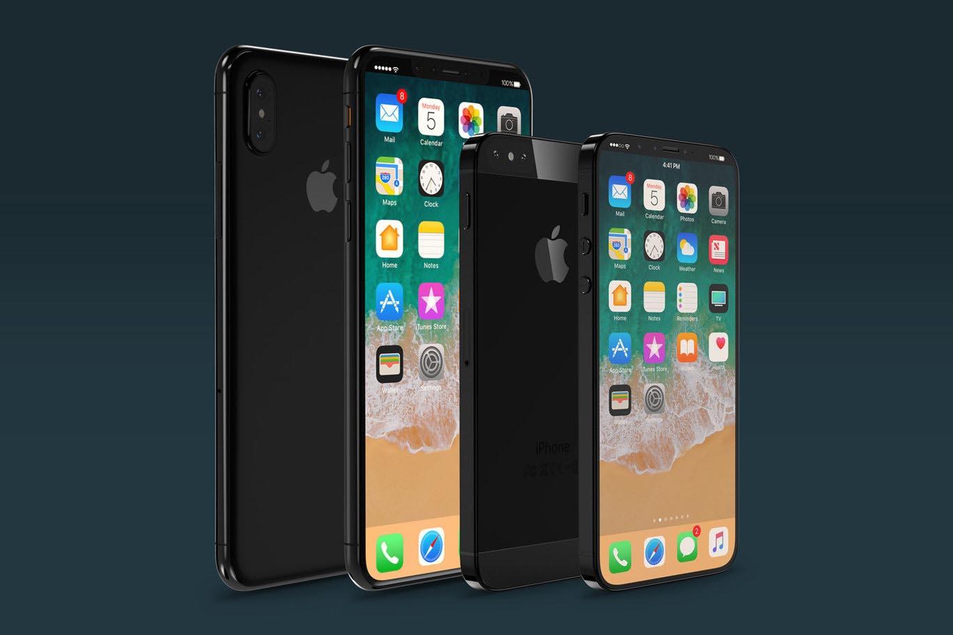 iPhone X SE concept