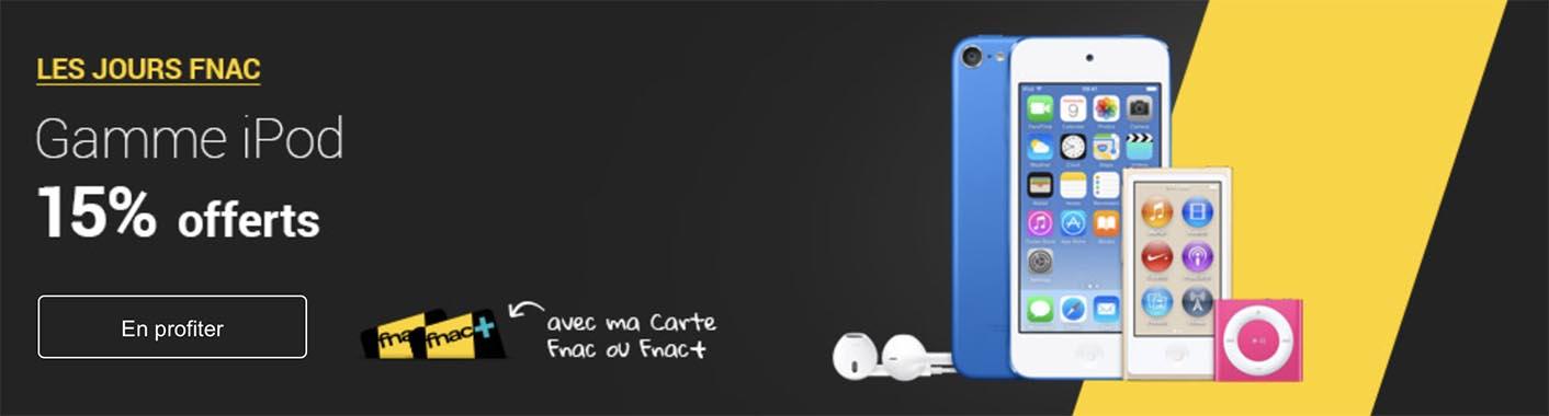 iPod promo Fnac