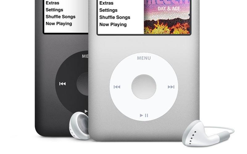 consomac l 39 ipod classic sur le refurb. Black Bedroom Furniture Sets. Home Design Ideas
