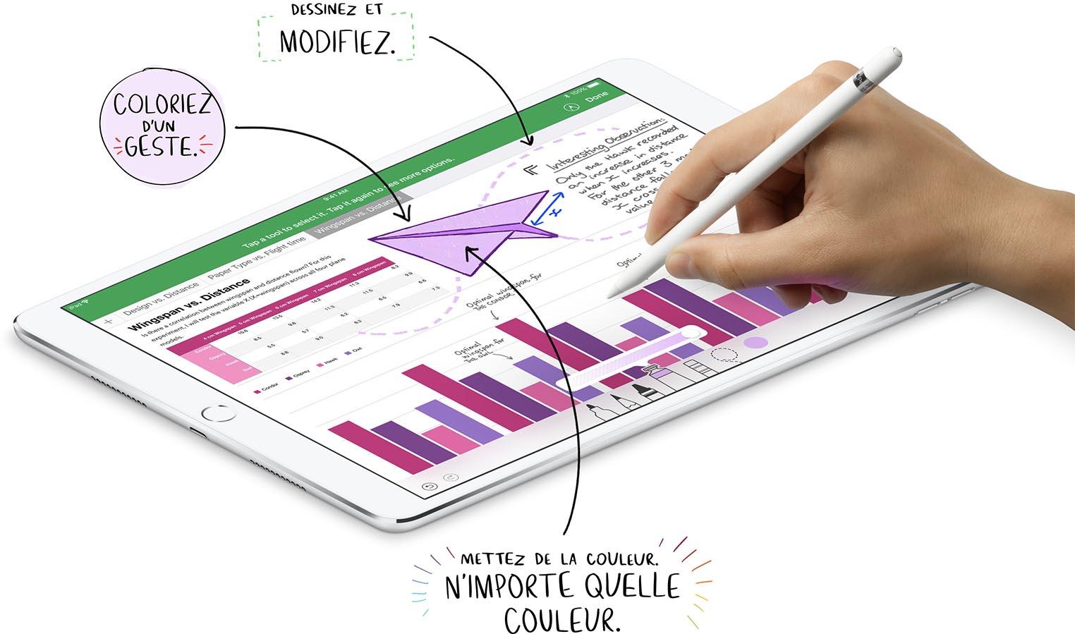 iWork Apple Pencil Numbers