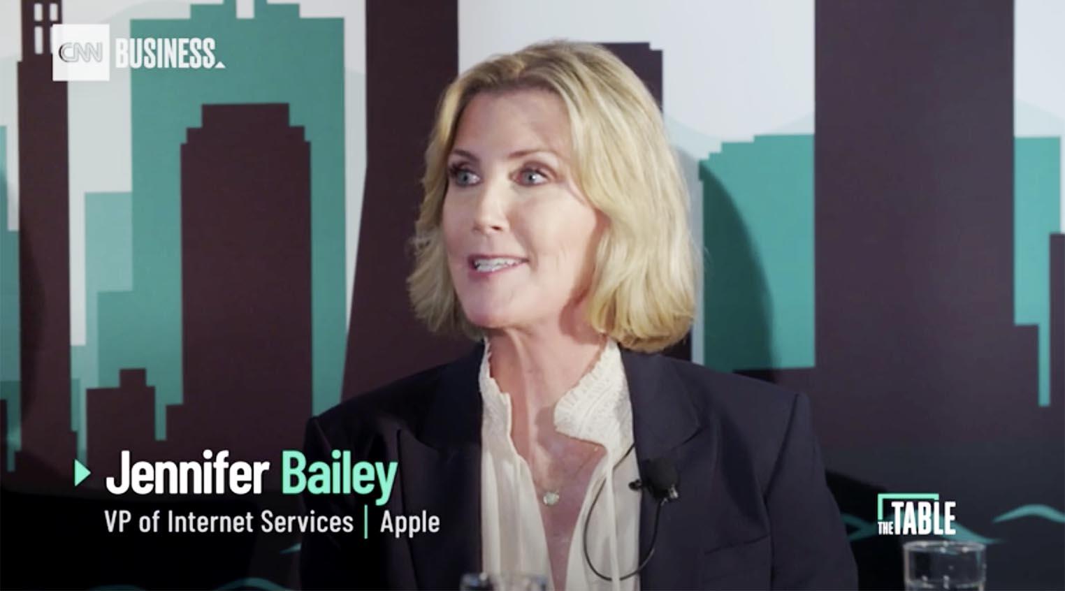 Jennifer Bailey Apple Pay CNN