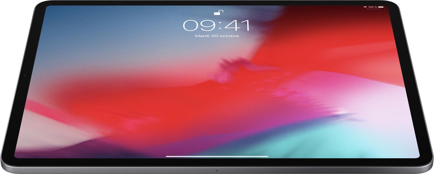 iPad Pro 2018 paysage