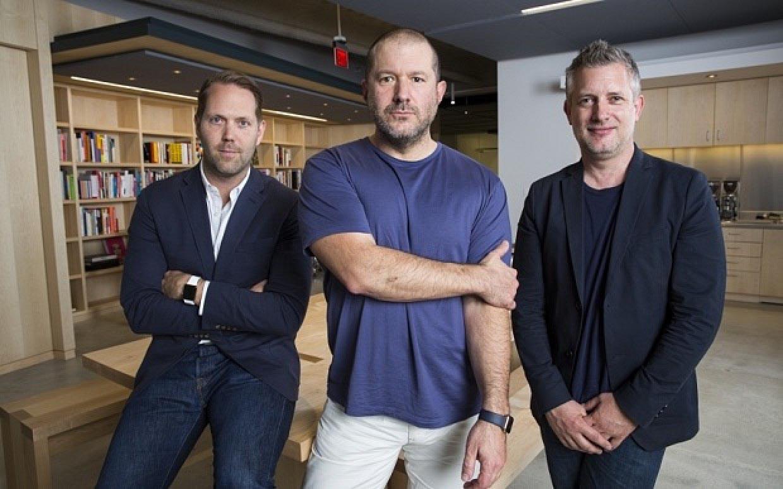 Jony Ive, Alan Dye et Richard Howarth